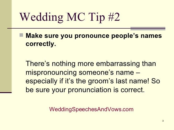 wedding emcee script funny pdf