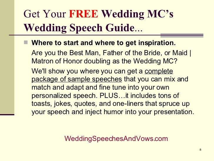 sample emcee script for wedding reception gallery wedding
