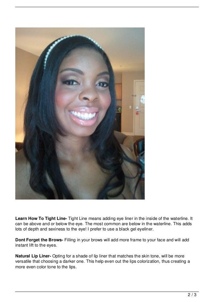 Wedding Makeup Tips For Dark Skin