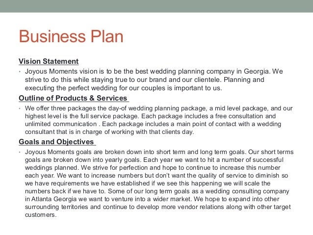 How to make a business plan for a banquet hall