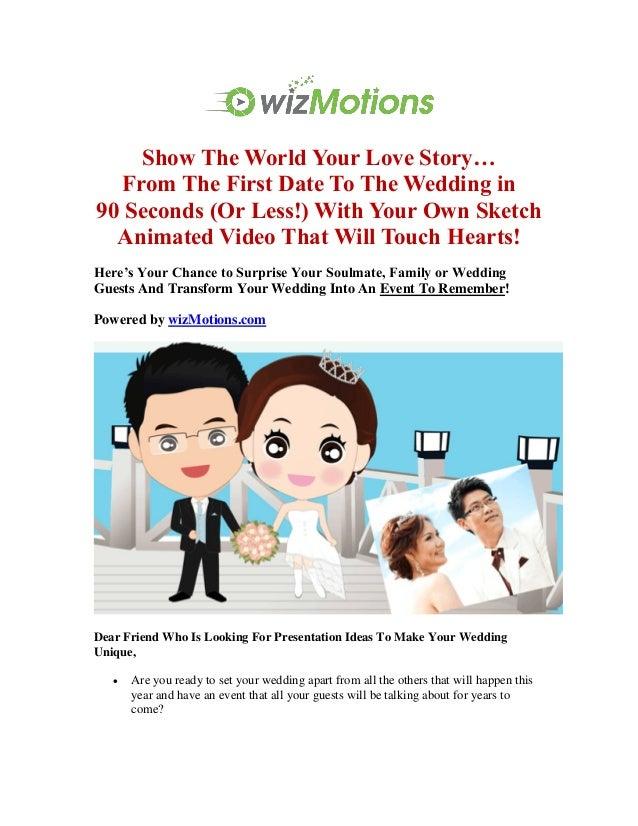 Best Wedding Presentation Ideas For Wedding Video Invitation