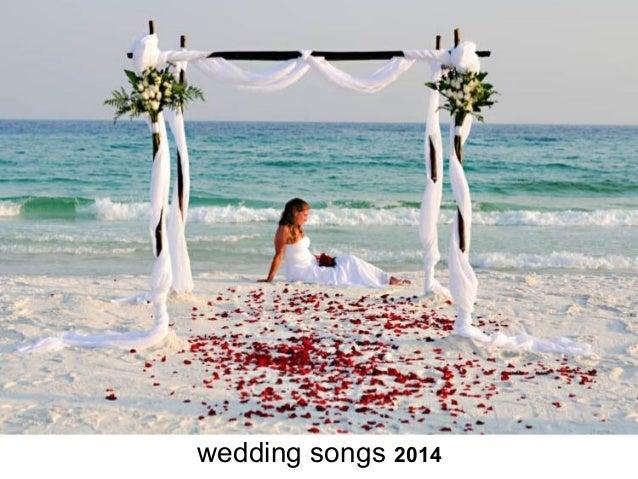 Wedding Songs 2014 List