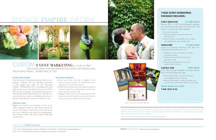 Order wedding brochures images