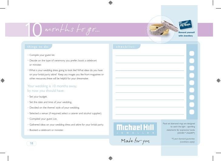 Wedding Handbook Sample