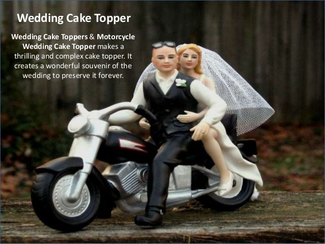 Toppers Motorcycle Wedding Cake Topers 8