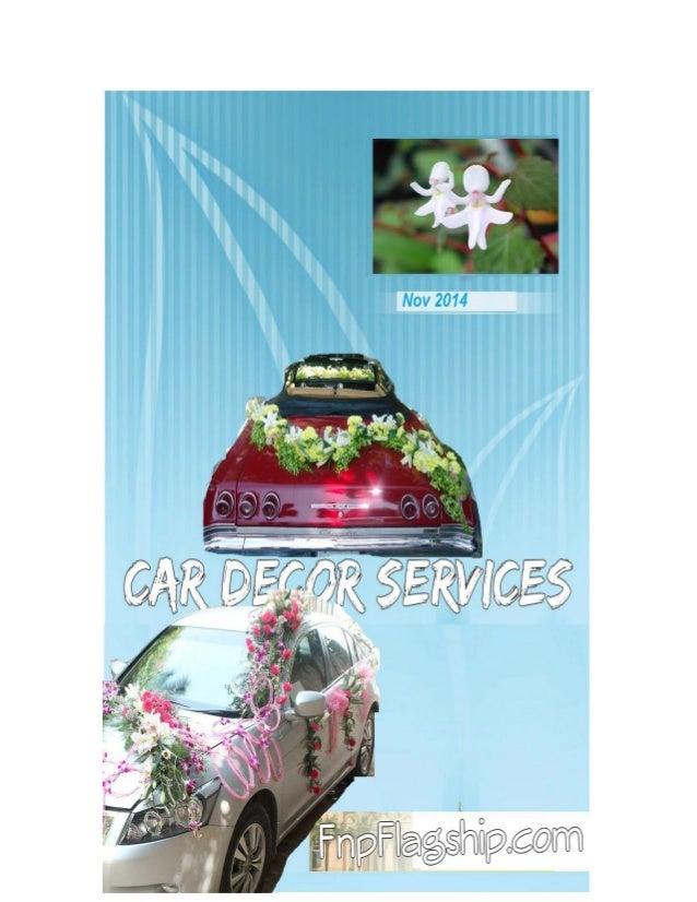 Wedding Car Decorations Services In Delhi