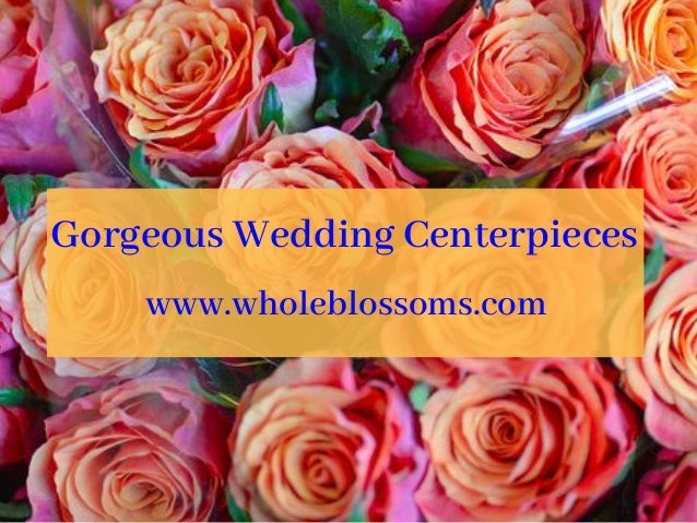 Gorgeous Wedding Centerpieces For Sale At The Affordable Price