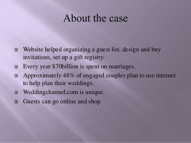 guests can go online and shop 3 weddingchannelcom