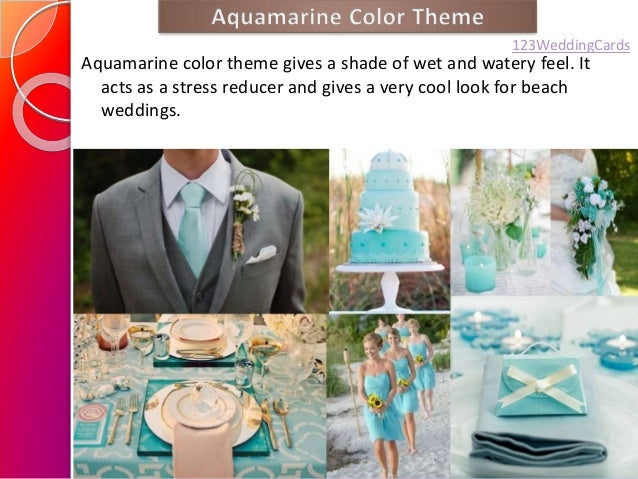 Spring/Summer Wedding Color Ideas 2015