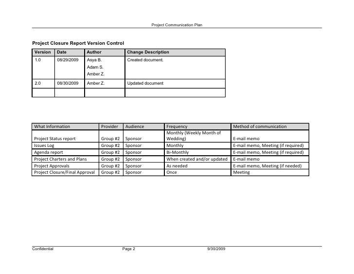 wedding project plan template
