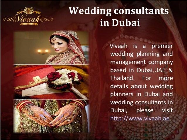 Wedding Consultants In Dubai