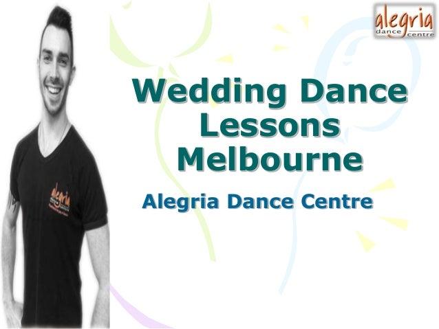 Wedding Dance Lessons Melbourne Alegria Centre