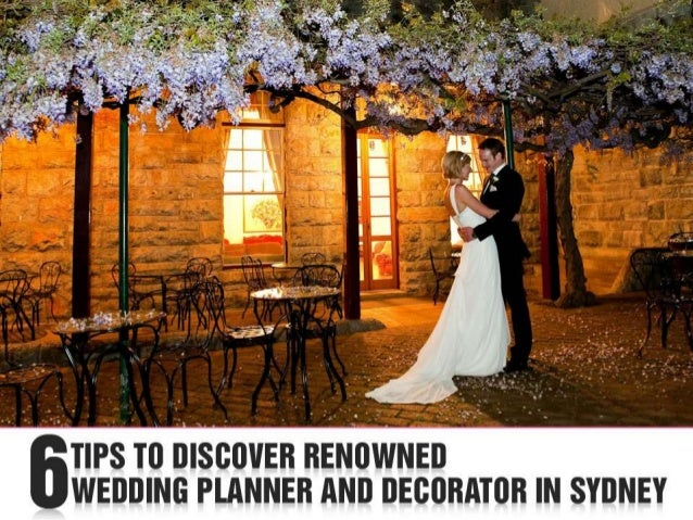 Wedding Planner Sydney: Wedding Decorator And Planner In Sydney