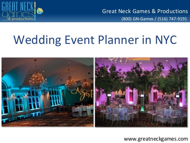 Great Neck Games & Productions                     (800) GN-Games / (516) 747-9191Wedding Event Planner in NYC            ...