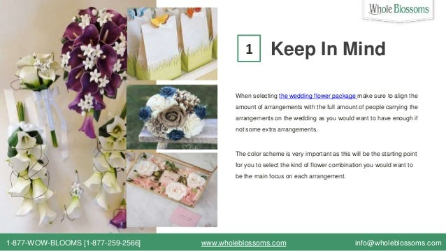 Find The Online Wholesale Wedding Flower Packages In Your Budget