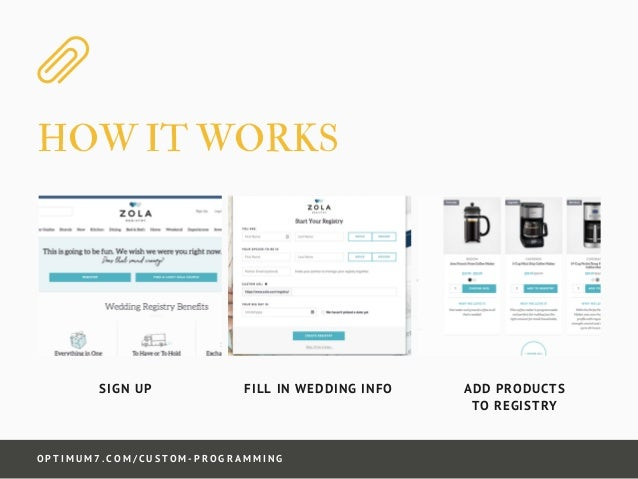 Wedding Registry Website.Wedding Gift Registry System