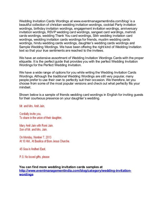 muslim marriage invitation letter format for friends matik