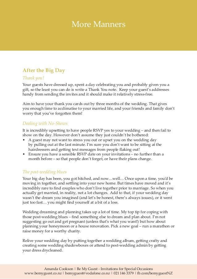 Wedding Invitation Wording and Etiquette Guide