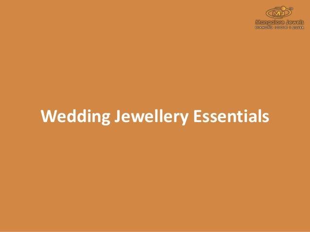 Wedding Jewellery Essentials
