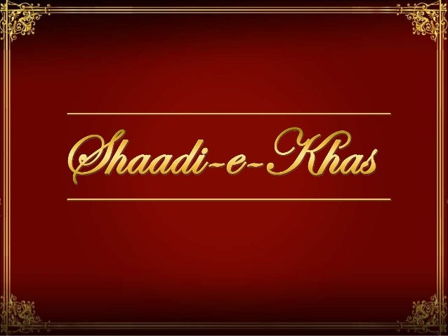 Introduction What is Shaadi-e-Khas How Shaadi-e-Khas can be helpful How Shaadi-e-Khas works Front End Back End Packages an...