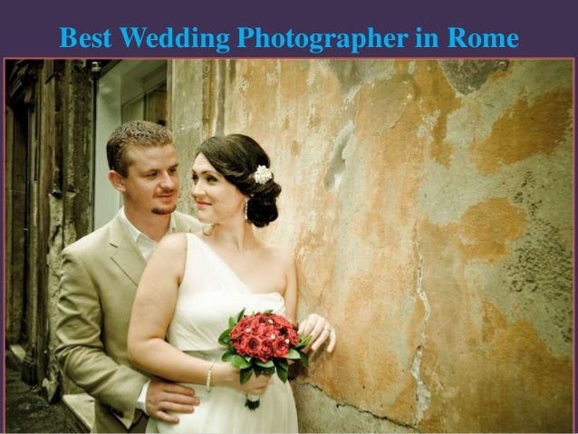 Best Wedding Photographer in Rome