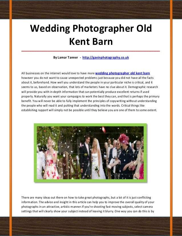 Wedding Photographer Old             Kent Barn____________________________________________________________________________...