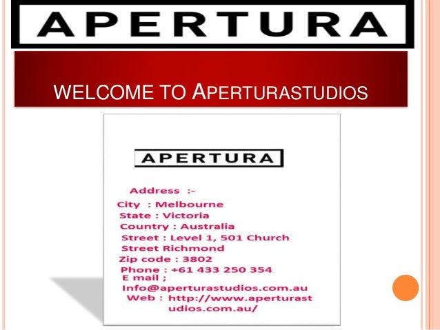 WELCOME TO APERTURASTUDIOS