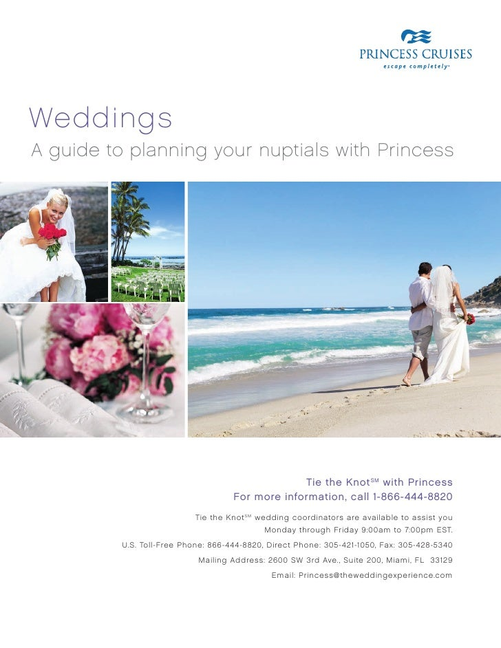weddings A guide to planning your nuptials with Princess                                                       Tie the Kno...