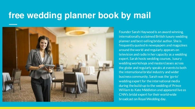 Wedding Planner Book Free By Mail