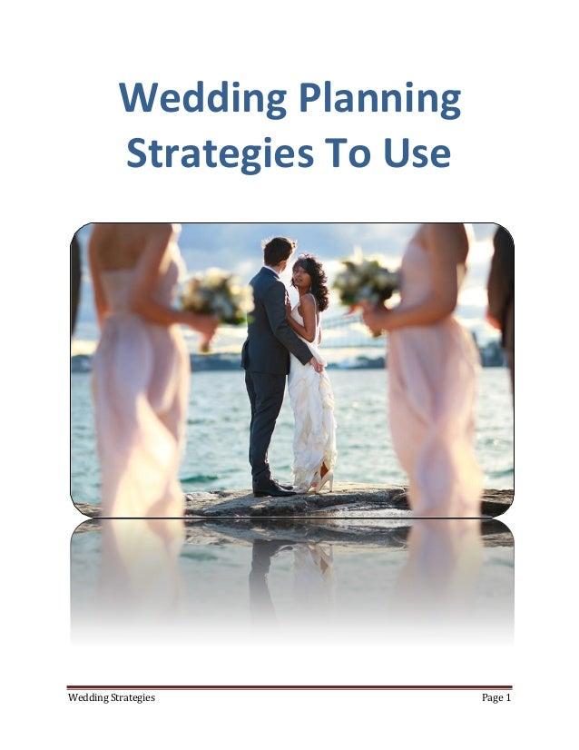 wedding planning strategies to use. Black Bedroom Furniture Sets. Home Design Ideas