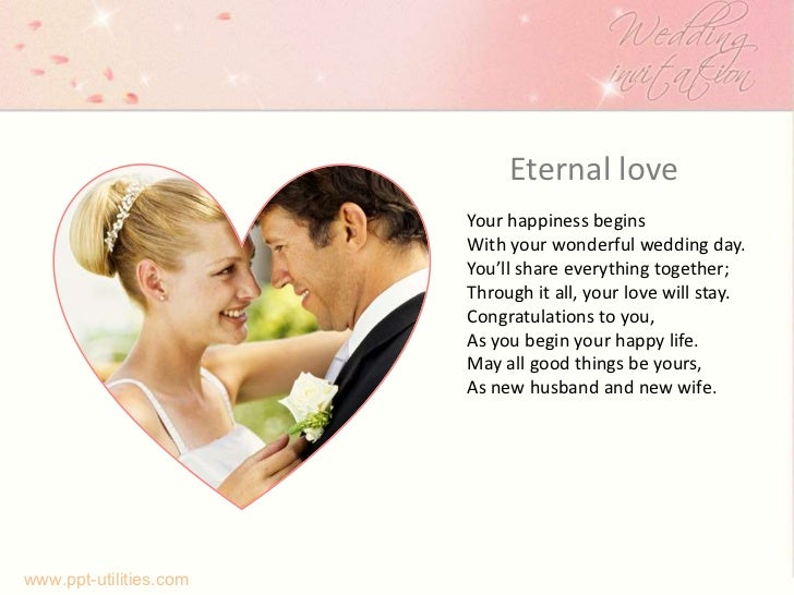 free wedding ppt template, Powerpoint templates