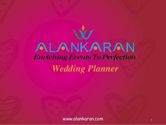 wedding planner business plan pdf