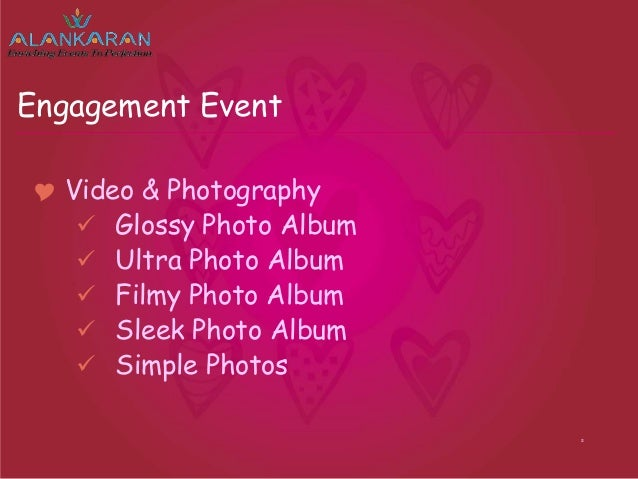wedding planning presentation alankaran weddings events pvt ltd