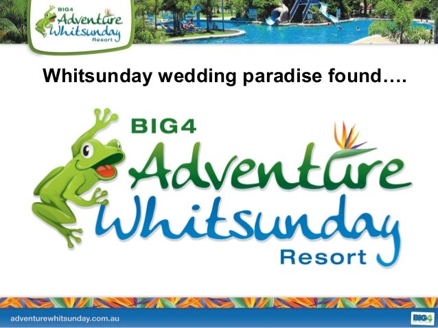 Whitsunday wedding paradise found….