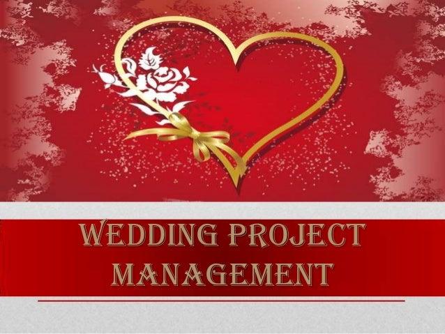 WEDDING PROJECT MANAGEMENT
