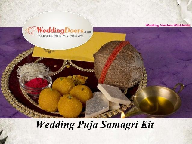 Wedding Puja Samagri Kit Wedding Vendors Worldwide