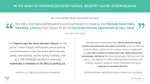 A Look Into The World Of The Wedding Registry