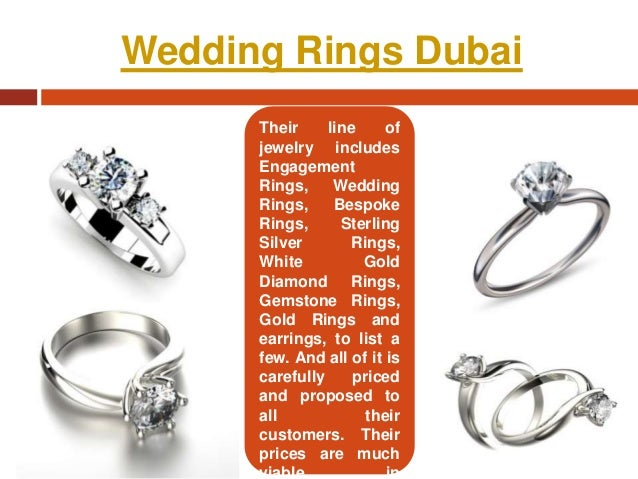Wedding rings in dubai