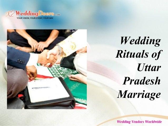 Wedding Rituals of Uttar Pradesh Marriage