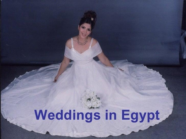 Weddings in Egypt Weddings in Egypt