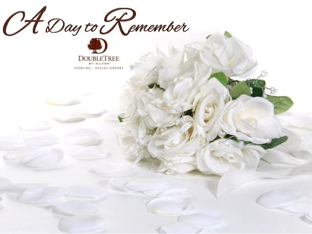 Your wedding day is one of the most memorable days of your life. It's a day you'll never forget. A day to be shared with f...