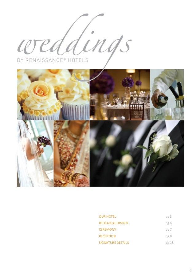 Renaissance Charlotte Suites Wedding Packages