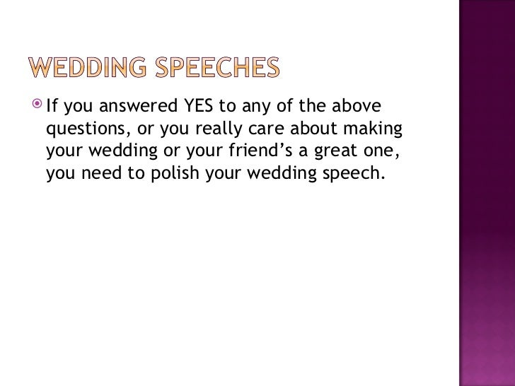 How To Write An Amazing Mr And Mrs Wedding Speech