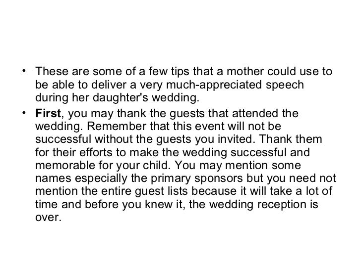 Wedding Speech Tips For Mother Of The 2012 Promgowns.com