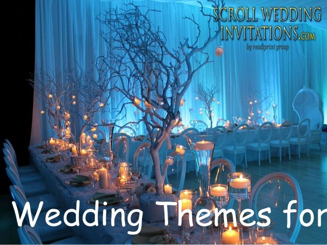 Wedding Themes For Winter