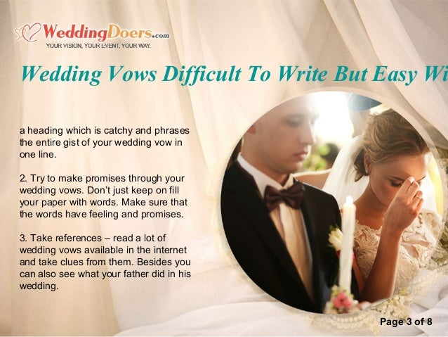 4 Page 3 Of 8 Wedding Vows