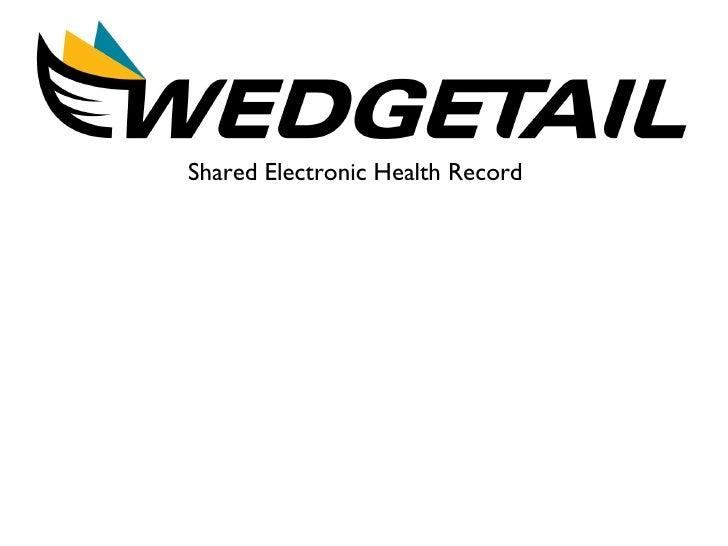<ul><li>Shared Electronic Health Record </li></ul>