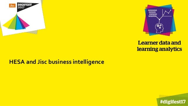 HESA and Jisc business intelligence