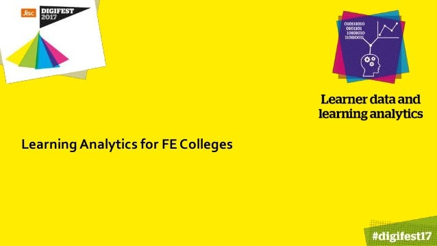 Learning Analytics for FE Colleges