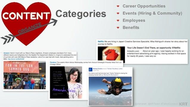 @AdrianaK @KRTweet #TalentConnect Categories ❤ Career Tips